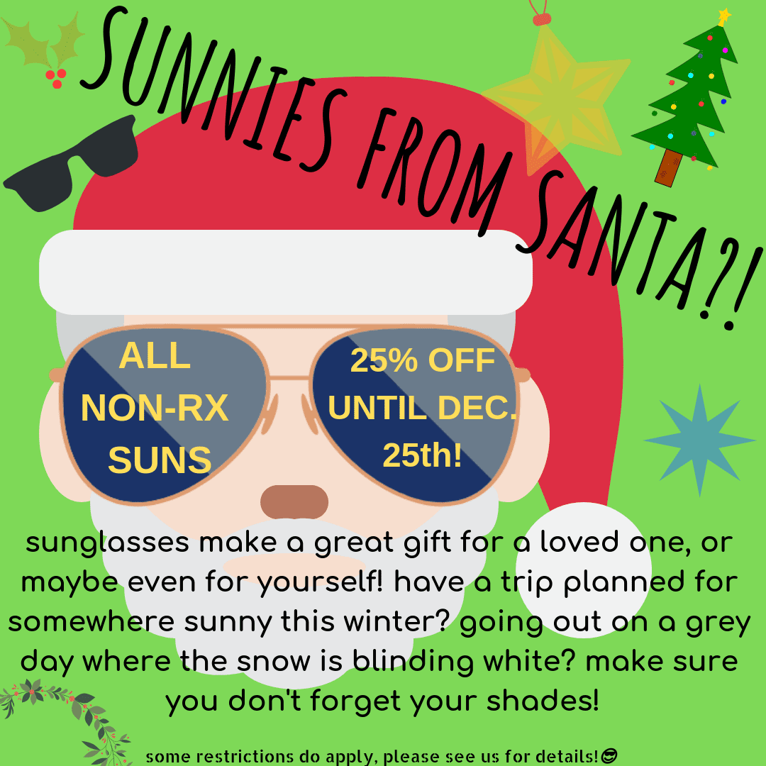 Sunnies from Santa!
